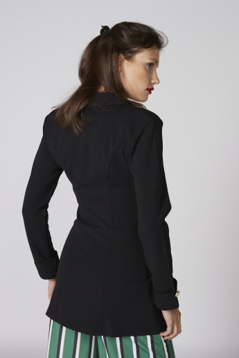Long Sleeves Jacket with Button Closure