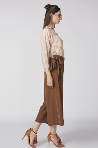 Elle Culottes with Pocket Detail and Tie Ups