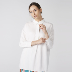 Elle Collared Top with Long Sleeves