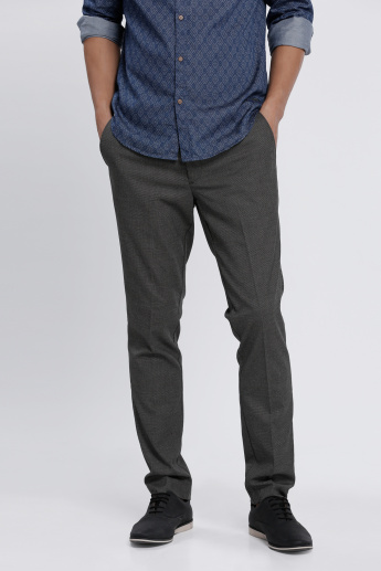 L'Homme Full Length Trousers in Slim Fit