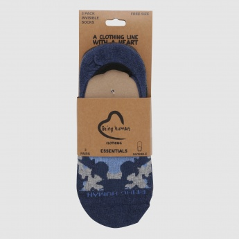 Being Human Camouflage Invisible  Socks - Set of 3