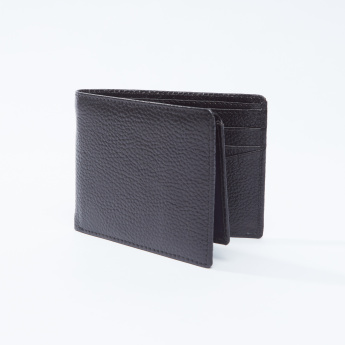 Textured Wallet with Multi-Card Holders