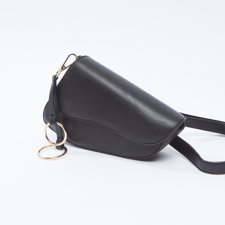 Plain Fanny Pack with Magnetic Snap Closure