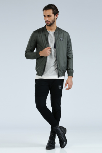 Iconic Long Sleeves Jacket with Zip Closure