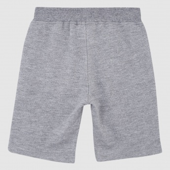 Iconic Applique Shorts with Drawstring
