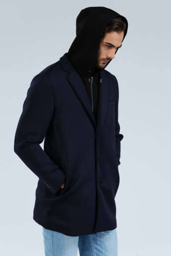 Iconic Long Sleeves Trench Coat with Detachable Hood