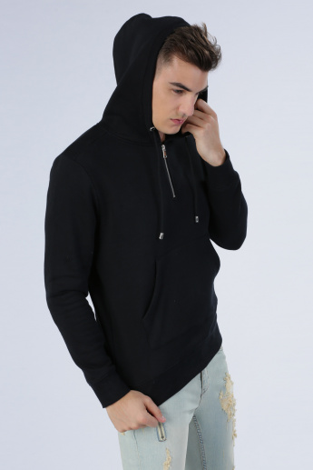 Iconic Sweatshirt with Long Sleeves and Hood