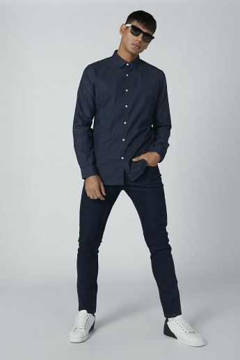 Iconic Long Sleeves Shirt with Complete Placket