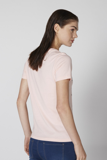 Bossini Printed T-Shirt with Short Sleeves