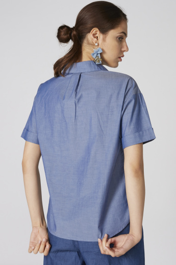 Bossini Top with Short Sleeves