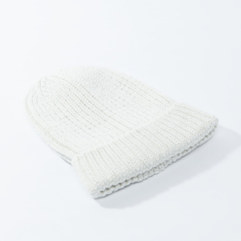 Lee Cooper Ribbed Beanie Cap