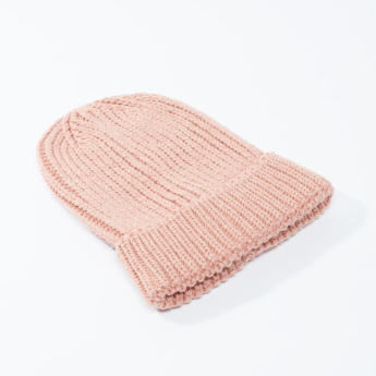 Lee Cooper Textured Beanie Cap