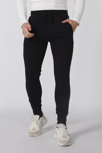 Bossini Full Length Jog Pants with Drawstring