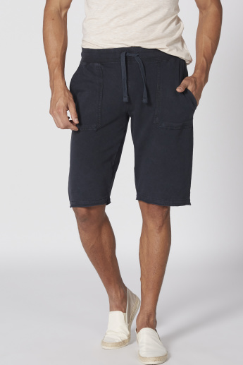 Lee Cooper Shorts with Elasticised Waistband and Pocket Detail
