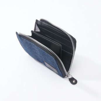 Lee Cooper Textured Wallet with Zip Closure
