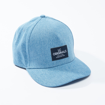 Lee Cooper Textured Cap with Snap Closure