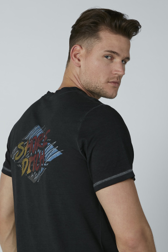 Lee Cooper Printed Round Neck T-shirt