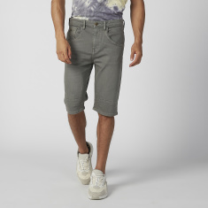 Lee Cooper Plain Shorts with Pocket Detail and Belt Loops