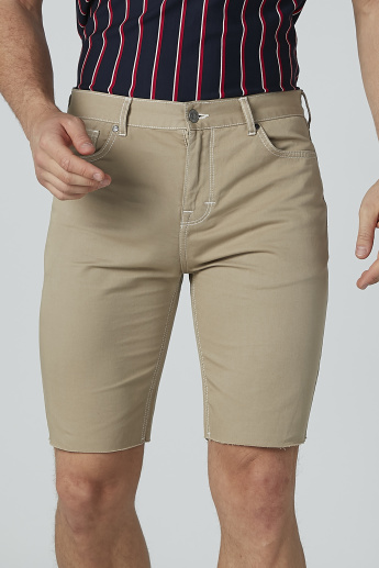 Lee Cooper Plain Shorts with Pocket Detail