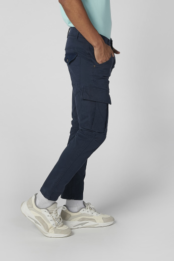 Sustainability Full Length Cargo Pants with Pocket Detail