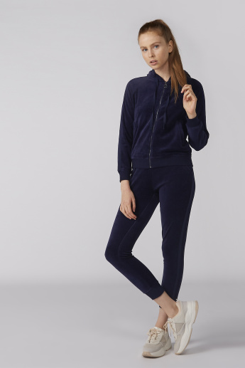 Bossini Full Length Jog Pants with Pocket Detail