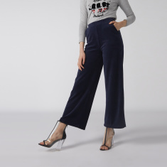 Bossini Palazzo Pants with Pocket Detail