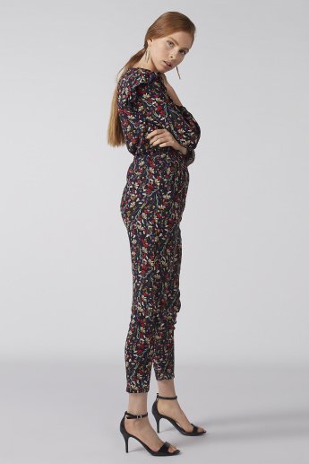 Bossini Floral Printed Pant with  Elasticised Waistband