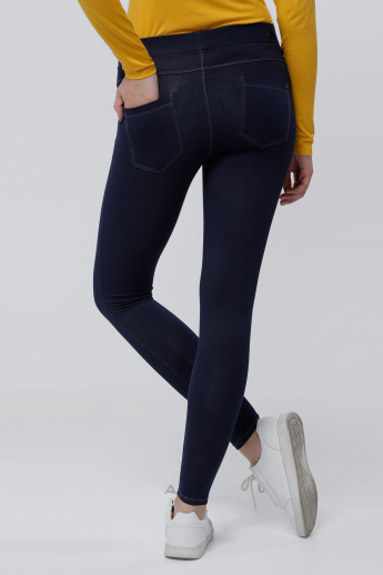 Jeggings with Elasticised Waistband