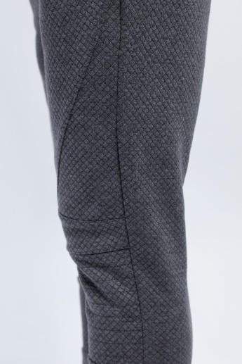 Full Length Textured Trouser