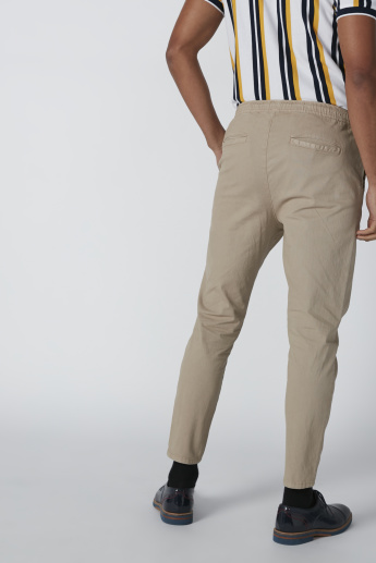 Pocket Detail Pants with Drawstring
