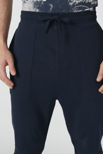 Sustainability Pocket Detail Jog Pants with Drawstring