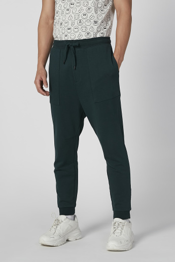 Sustainability Cuffed Jog Pants with Elasticated Waistband