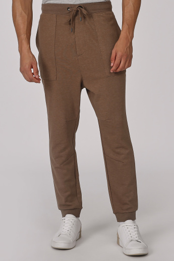 Sustainable Cuffed Jog Pants with Elasticated Waistband