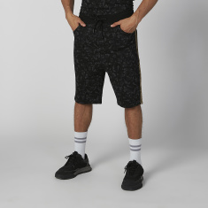 Sustainability Printed Flexi Waist Shorts with Pocket Detail