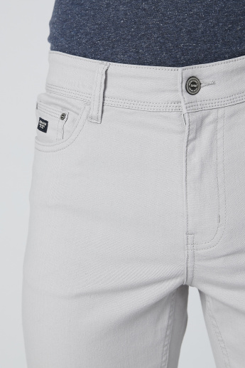 Skinny Fit Jeans with Pocket Detail