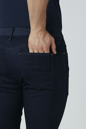 Pocket Detail Jeans with Drawstring