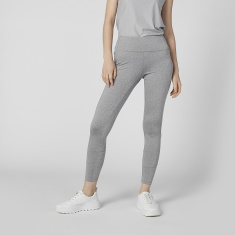 Kappa Full Length Plain Leggings with Elasticised Waistband