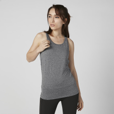 Kappa Plain Vest with Scoop Neck and Racerback