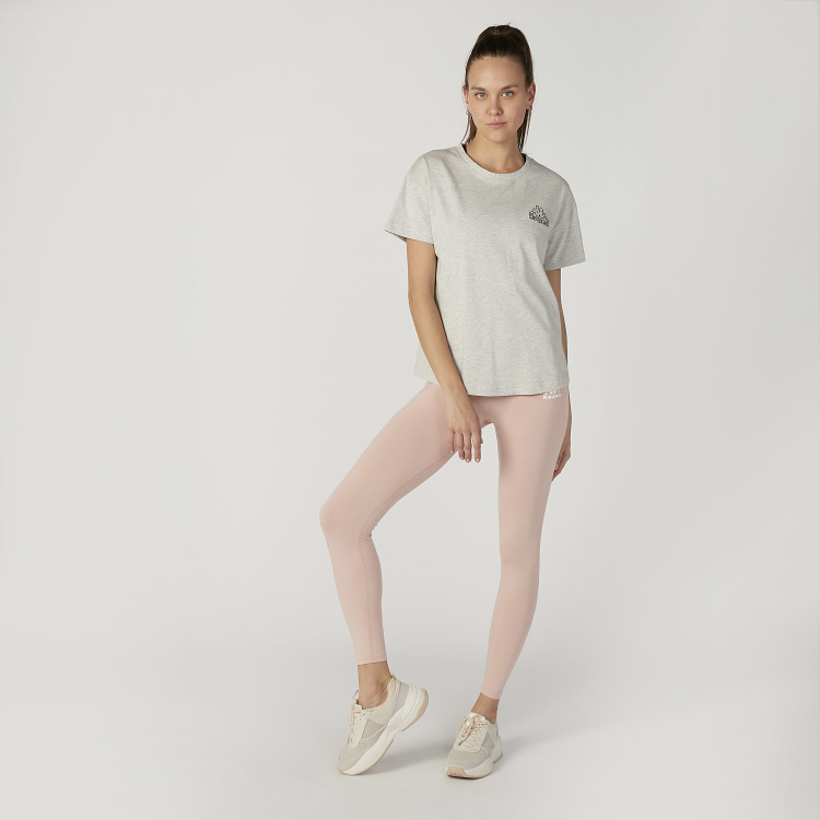 Kappa Full Length Plain Leggings with Elasticised Wasitband