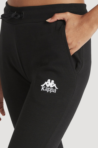 Sustainable Kappa Jog Pants with Elasticated Waistband and Pockets