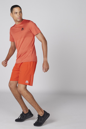 Kappa Shorts with Elasticised Waistband and Pocket Detail