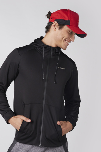Kappa Long Sleeves Jacket with Zip Closure and Hood