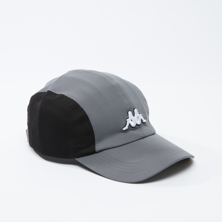Kappa Embroidered Cap with Tuck-In Closure