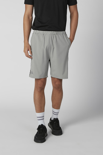 Kappa Plain Shorts with Pocket and Tape Detail