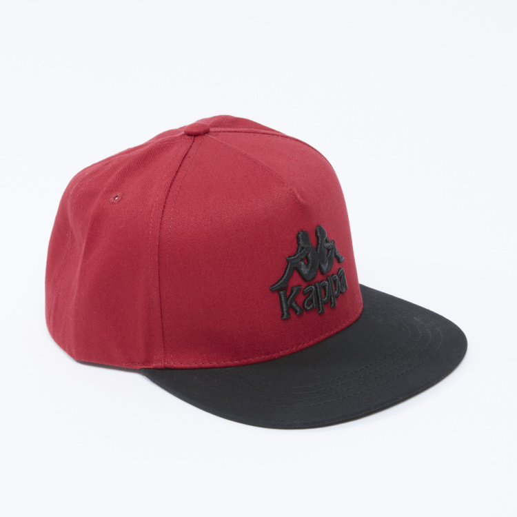 Kappa Textured Cap with Snap Closure