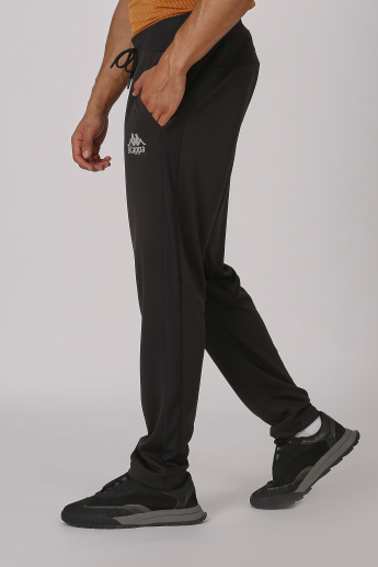 Sustainable Kappa Plain Jog Pants with Elasticised Waistband