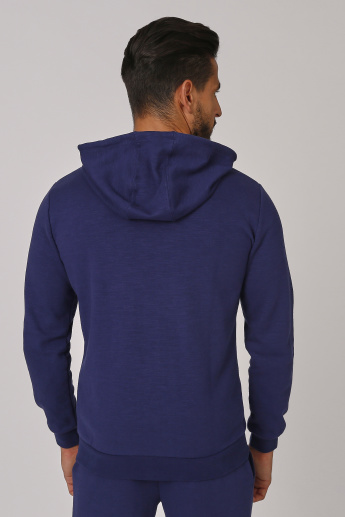Kappa Plain Jacket with Kangaroo Pockets and Hood