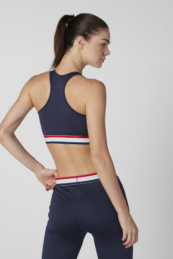 Plain Sports Bra with Racerback