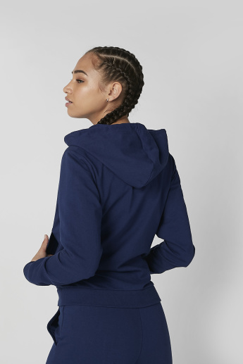 Sustainable Plain Hoodie with Long Sleeves and Kangaroo Pockets