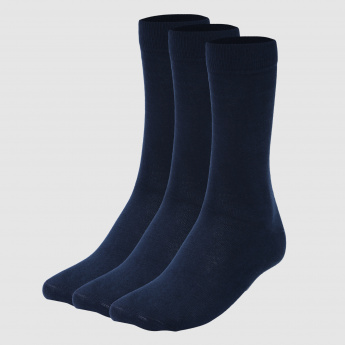 Crew Length Socks – Set of 3